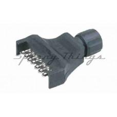 7 Pin Flat Plastic Trailer Plug