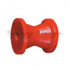 "3""Bow Roller Poly Soft - Red"