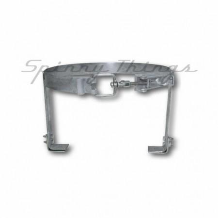 Gas Bottle Holder - 4kg - Galvanised & Lockable