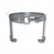 Gas Bottle Holder - 9kg - Galvanised & Lockable