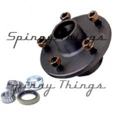 "Hub 5 1/2"" HT stud pattern / HOLDEN bearings"