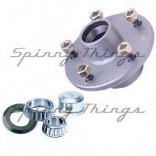 Hub FORD stud pattern / FORD bearings - Galvanised