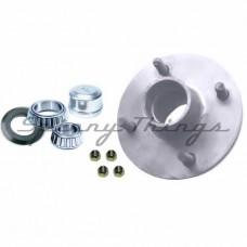 Hub GEMINI 4 stud pattern / HOLDEN bearings - Galvanised