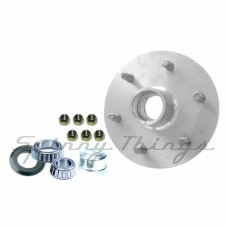 Hub LANDCRUISER 6 stud pattern / FORD bearings - Galvanised