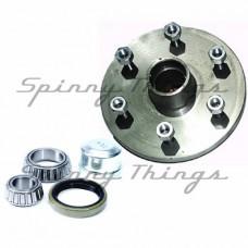 Hub LANDCRUISER 6 stud pattern / FORD bearings