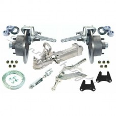 Mechanical Disc Brake Kit - Galvanised - A-Frame Trailer