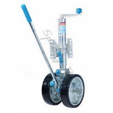 Ratchet Jockey Wheel - HEAVY DUTY Dual-Wheel