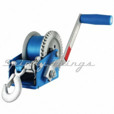 Boat Winch 4:1 ratio - 650kg capacity - Strap with Snap-on hook