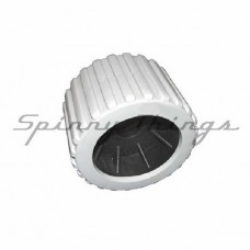 Ribbed Wobble Roller – Grey – 26mm bore