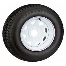 """14""""Rim White -Ford w/Light Truck Tyre"""