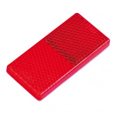 Red Reflector - 40mm x 60mm